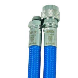 Inflatorslange Miflex blå