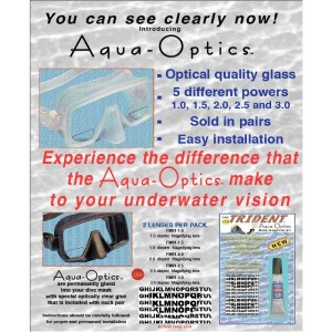Optiske linser af glas - læsefelter