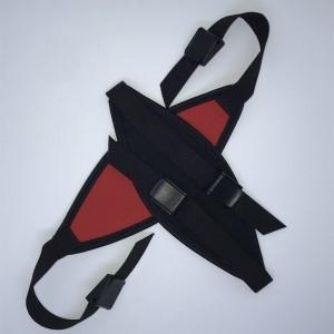 Neopren Maskestrop med velcro rød