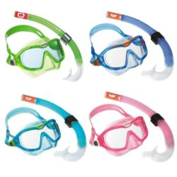 børnemaske snorkel set Reef Mix