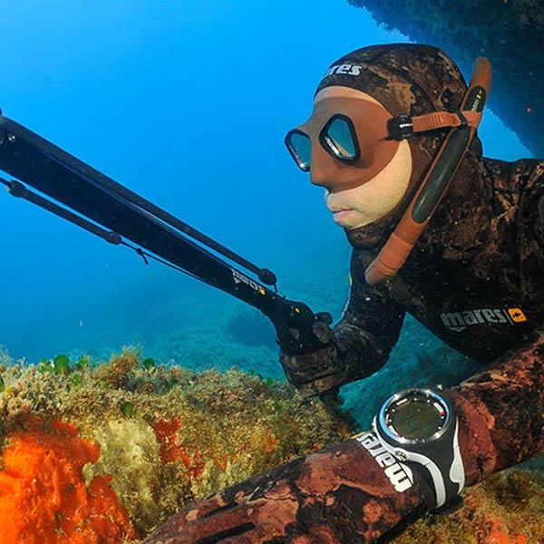 UV jagt dykker