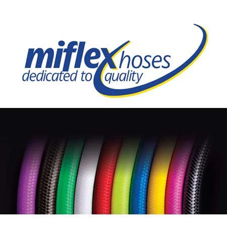 Miflex slanger i forskellige farver